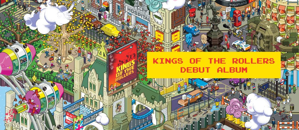 ae0758cfc743e Hospital Records – PRE-ORDER  Kings Of The Rollers –  Kings Of The ...